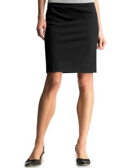 Black Skirt Is Your Best Choice In Shirts Or Blouse