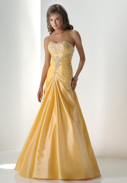 Getting To Know Female Shapes To Help You Pick The Right Prom Dress :  dress female prom shapes